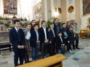 Foto gruppo vincitori IV edizione (2013)