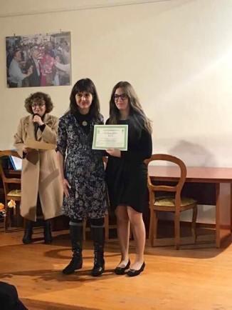 Elisabetta Furio, 1° Premio 97 su 100 cat. F1