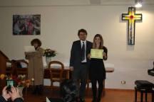 Francesca Bandiera 1° Premio ex-aequo 95 su 100 cat. F2