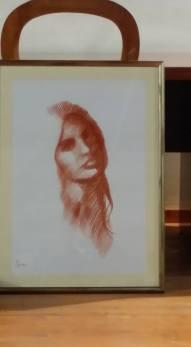 Il disegno dell'artista Gerardo Iovino