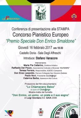 Locandina Conferenza Stampa