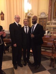 16 I Maestri R. Paul Crabb, Roberto Maggio e Brandon Boyd