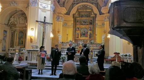8 I Maestri americani presentano il loro programma e ringraziano per l'ospitalità. Francesco Smaldone, traduce.