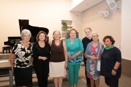 Adriana, io, Annapia, Gerardo e altri associati