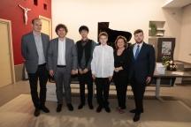 Eric Porche, Marek szlezer Maria Pia Celerino, Francesco Smaldone e due vincitori
