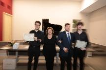 Maria Pia Cellerino premia il Duo Blasio-Garzillo