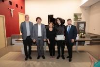 Parte della Commissione con Andrea Riccio